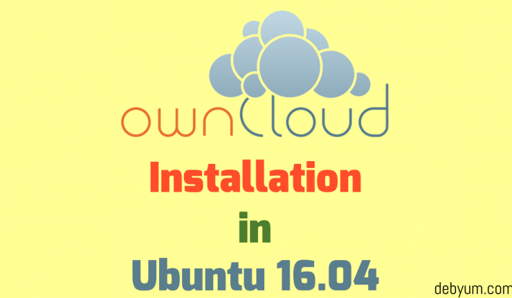 how to install owncloud on ubuntu server