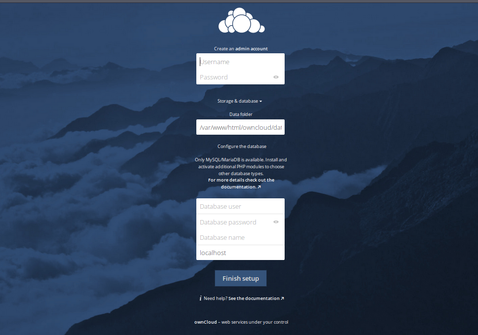 how to install owncloud on ubuntu server.