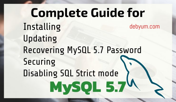 Disable strict SQL mode in mysql 5.7 in CentOS 7