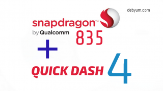 Qulacomm snapdragon 835 with Quick Charge 4
