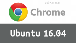 Install google chrome ubuntu 16.04