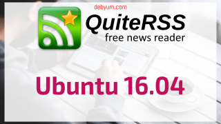 Install QuiteRSS on ubuntu 16.04