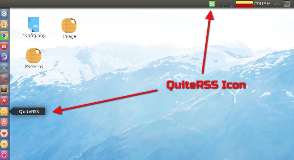 QuiteRSS feed Reader install on Ubuntu 16.04