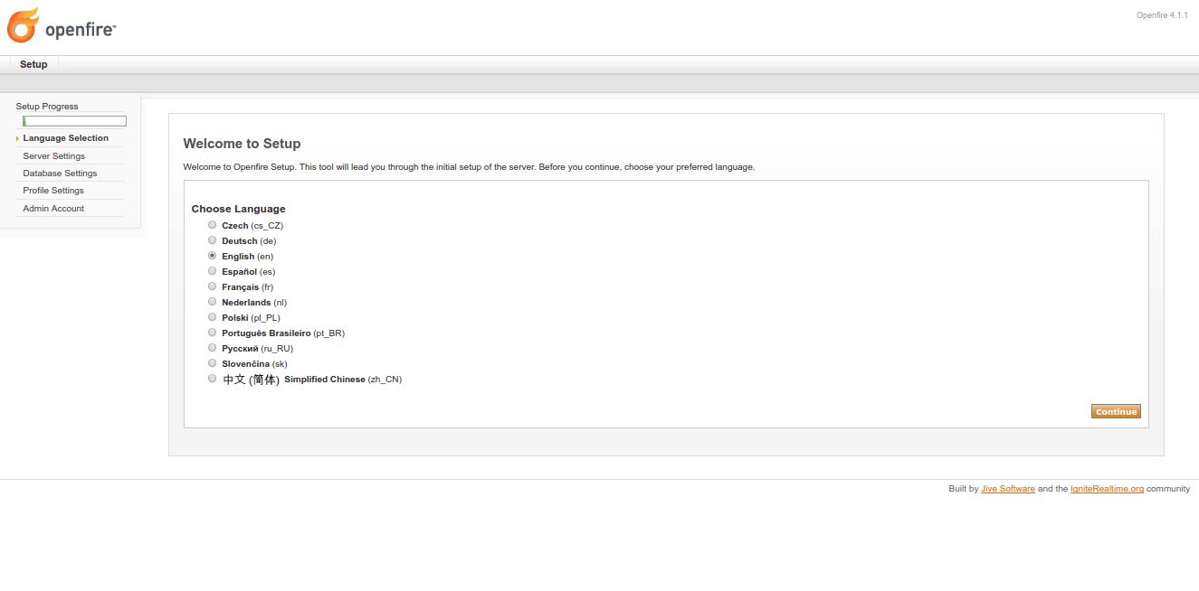 How to Install and setup OpenFire Server on CentOS 7  - DebYum