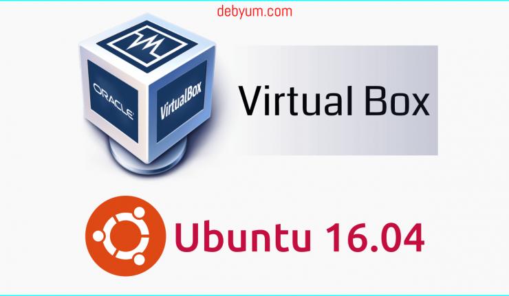 install virtualbox on ubuntu 16.04