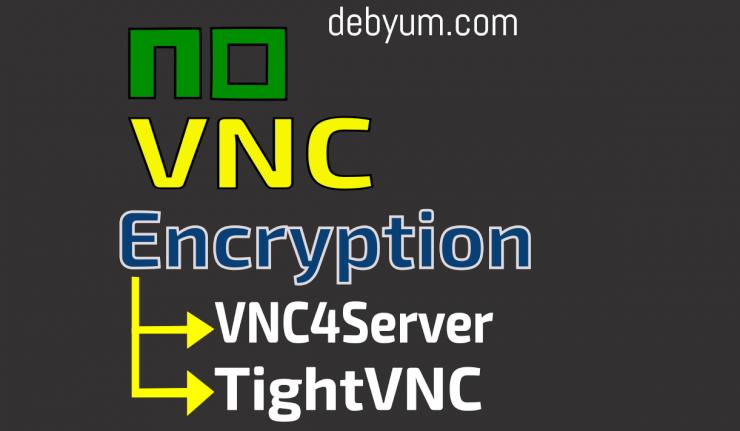 noVNC encryption tightvnc