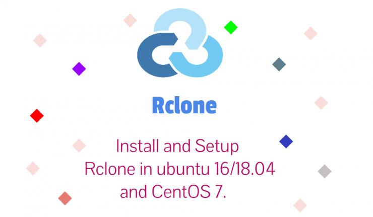 Setup Rclone For Google Drive On Ubuntu 18.04